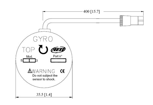 Abmaße AIM Gyroskop