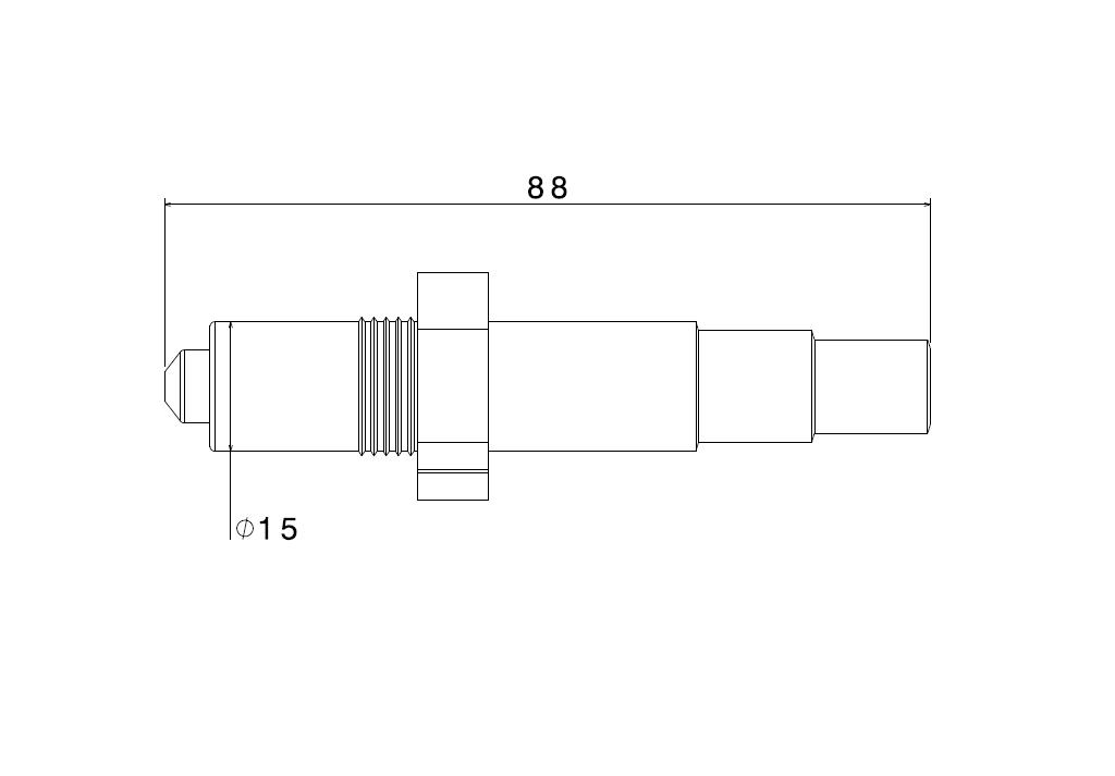 Abmaße Lambdasonde LSU 4.9